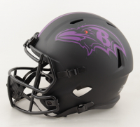 """Marquise Brown Signed Ravens Full-Size Eclipse Alternate Speed Helmet Inscribed """"Speed Killer"""" & """"Hollywood"""" (JSA COA) at PristineAuction.com"""