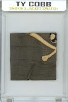 TY COBB PERSONALLY WORN/OWNED SMOKING JACKET MYSTERY SWATCH BOX! at PristineAuction.com