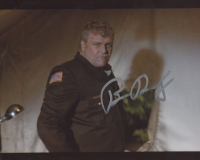 """Brian Dennehy Signed """"First Blood"""" 8x10 Photo (AutographCOA COA) at PristineAuction.com"""