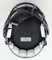 Nico Collins Signed Michigan Wolverines Full-Size Matte Black Speed Helmet (Beckett Hologram) at PristineAuction.com