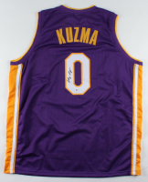 Kyle Kuzma Signed Jersey (Beckett COA) at PristineAuction.com