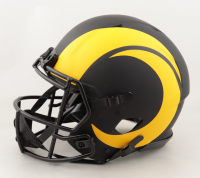 Aaron Donald Signed Rams Full-Size Authentic On-Field Eclipse Alternate Speed Helmet with Multiple Inscriptions (JSA COA) (See Description) at PristineAuction.com