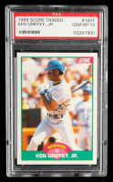 Ken Griffey Jr. 1989 Score Rookie / Traded #100T RC (PSA 10) at PristineAuction.com