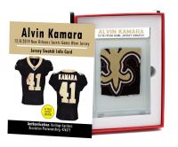 ALVIN KAMARA 2019 SAINTS GAME WORN JERSEY MYSTERY SWATCH BOX! at PristineAuction.com