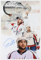 Tom Wilson Signed Capitals 12x18 Photo (JSA Hologram) at PristineAuction.com