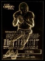 Tom Brady 2000 Fleer 23kt Gold Card RC #5,661 at PristineAuction.com