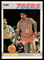 Julius Erving 1987-88 Fleer #35 at PristineAuction.com