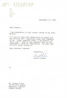ARNOLD PALMER 1980 PGA CHAMPIONSHIP WORN POLO SHIRT MYSTERY SWATCH BOX! at PristineAuction.com