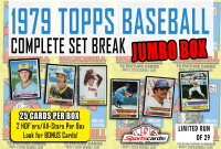 """""""1979 TOPPS BASEBALL COMPLETE SET BREAK"""" MYSTERY BOX– 25 CARDS PER BOX at PristineAuction.com"""