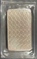 """10 Troy Oz .999 Fine Silver """"2013 Year of the Snake"""" Bullion Bar at PristineAuction.com"""