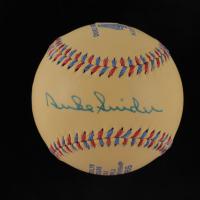 Duke Snider Signed 1955 World Series Dodgers Logo Baseball (JSA COA) at PristineAuction.com