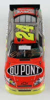 Jeff Gordon Signed Rare Pre-Production Sample 2011 NASCAR #24 DuPont - Brushed Metal - 1:24 Premium Action Diecast Car (Gordon Hologram) at PristineAuction.com