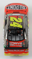 Jeff Gordon Signed Rare Pre-Production Sample 2011 NASCAR #24 DuPont - Brushed Metal - 1:24 Premium Action Diecast Car (Gordon Hologram) at PristineAuction.com