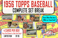 """1956 Topps Baseball"" Complete Set Break MYSTERY BOX – 4 Cards Per Box! at PristineAuction.com"