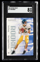 Tom Brady 2000 Impact #27 RC (SGC 8) at PristineAuction.com