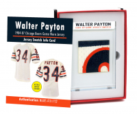 WALTER PAYTON 1984-87 BEARS GAME WORN JERSEY MYSTERY SWATCH BOX! at PristineAuction.com