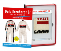 DALE EARNHARDT SR 1991 RACE WORN FIRE SUIT MYSTERY SWATCH BOX! at PristineAuction.com