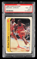 Michael Jordan 1986-87 Fleer Stickers #8 (PSA 8) (ST) at PristineAuction.com