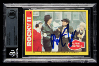Burt Young Signed 1979 Rocky II #13 Rappin' with Paulie (BGS Encapsulated) at PristineAuction.com