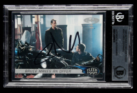 Chris O'Donnell Signed 1995 Batman Forever Fleer #58 Bruce Makes An Offer (BGS Encapsulated) at PristineAuction.com