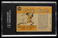 Ernie Banks 1960 Topps #560 All-Star (SGC 5.5) at PristineAuction.com