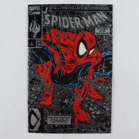 """1990 """"Spider-Man"""" Issue #1 Marvel Silver Edition Comic Book at PristineAuction.com"""