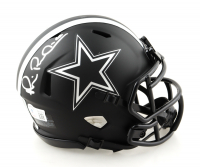 "Michael ""Playmaker"" Irvin Signed Cowboys Eclipse Alternate Speed Mini Helmet (Beckett Hologram) at PristineAuction.com"