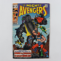 "1969 ""The Mighty Avengers"" Issue #69 Marvel Comic Book (See Description) at PristineAuction.com"