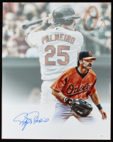 Rafael Palmeiro Signed Orioles 16x20 Photo (JSA Hologram) at PristineAuction.com