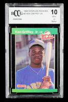 Ken Griffey Jr. 1989 Donruss Rookies #3 (BCCG 10) (See Description) at PristineAuction.com