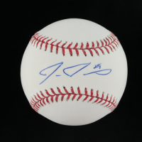 Ike Davis Signed OML Baseball (JSA COA) at PristineAuction.com