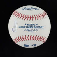 Ike Davis Signed OML Baseball (JSA COA) at PristineAuction.com