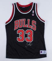 Scottie Pippen Signed Bulls Jersey (Beckett COA) at PristineAuction.com