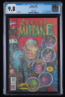 """2017 """"Cable"""" Issue #150 Lenticular Cover Marvel Comic Book (CGC 9.8) at PristineAuction.com"""