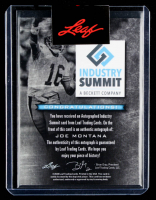 Joe Montana 2020 Leaf Industry Summit Joe Montana Autograph #ISJM1 at PristineAuction.com