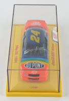 Jeff Gordon Signed 1994 NASCAR #24 Dupont - 1994 Coca-Cola 600 Win - 1:24 Diecast Car with Display Case (Gordon Hologram) at PristineAuction.com