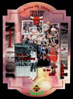 Michael Jordan LE 1999 Upper Deck Michael Jordan The Farewell Shot #NNO at PristineAuction.com