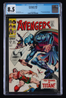 "1968 ""The Avengers"" Issue #50 Marvel Comic Book (CGC 8.5) at PristineAuction.com"
