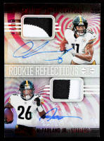 Anthony McFarland Jr. / Chase Claypool 2020 Panini Illusions Rookie Reflections Dual Patch Autographs Red #8 #17/35 at PristineAuction.com
