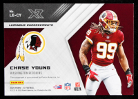 Chase Young 2020 Panini XR Luminous Endorsements Gold #12 #2/10 at PristineAuction.com