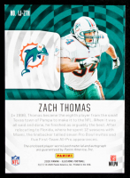 Zach Thomas 2020 Panini Illusions Immortalized Jersey Autographs Red #10 #32/35 at PristineAuction.com