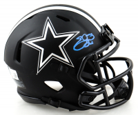 Emmitt Smith Signed Cowboys Eclipse Alternate Speed Mini Helmet (Beckett Hologram) at PristineAuction.com