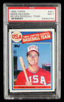 Mark McGwire 1985 Topps #401 Olympic RC (PSA 7) at PristineAuction.com