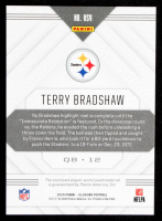 Terry Bradshaw 2020 Panini Illusions Highlight Swatches #9 at PristineAuction.com