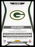 Aaron Rodgers 2020 Certified Materials #18 #72/199 at PristineAuction.com