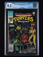 "1988 ""Teenage Mutant Ninja Turtles Adventures"" Issue #1 Archie Publications Comic Book (CGC 9.2) at PristineAuction.com"