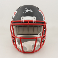 Tyreek Hill Signed Chiefs Full-Size AMP Alternate Speed Helmet (JSA COA) at PristineAuction.com