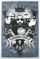 "Norman Reedus, Sean Patrick Flanery & David Della Rocco Signed ""The Boondock Saints"" 24x36 Poster (Radtke COA) at PristineAuction.com"