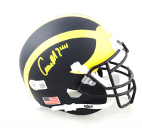 Cameron McGrone Signed Michigan Wolverine Mini Helmet (Beckett Hologram) at PristineAuction.com