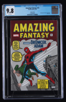 "1962 ""Amazing Fantasy"" Issue #15 Turkish Edition Marvel Comic Book (CGC 9.8) at PristineAuction.com"